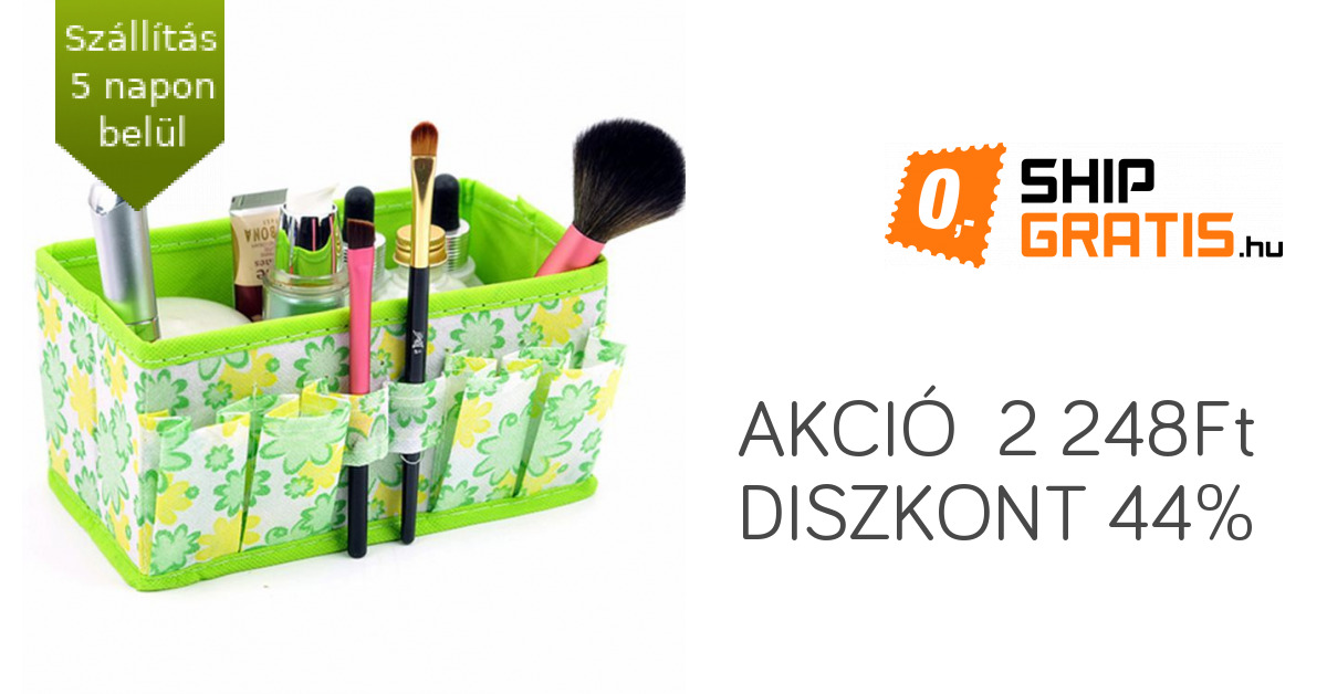 8f9b3ff0b4bb Kozmetikai tároló doboz | ShipGratis.hu