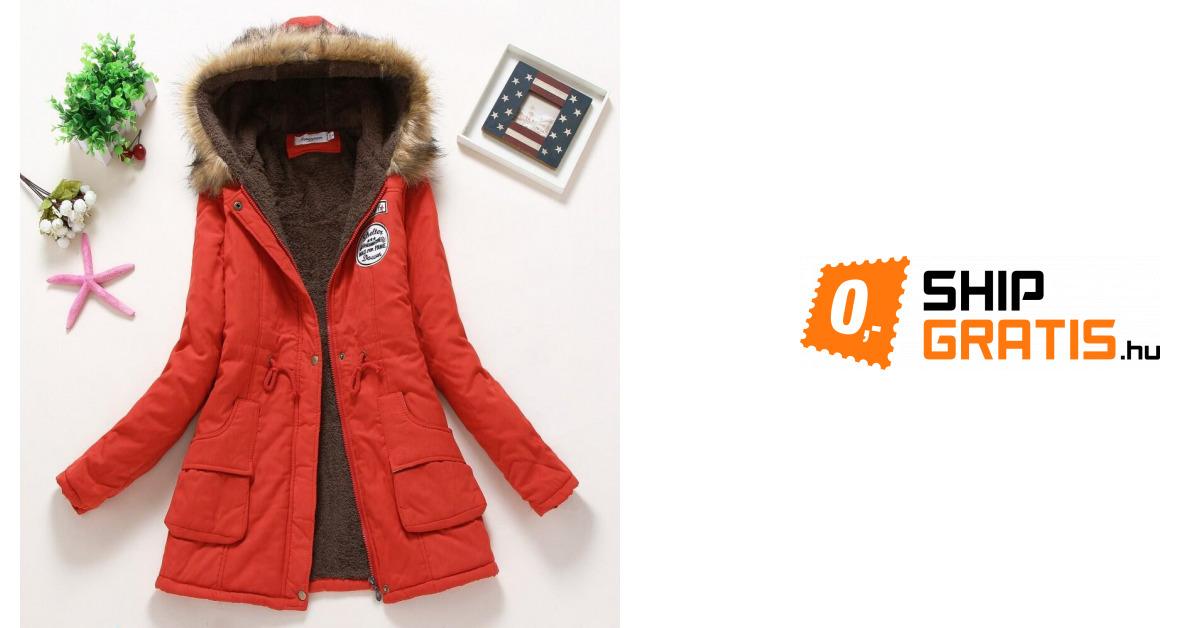 cb243b3427 Téli női kabát Jane | ShipGratis.hu
