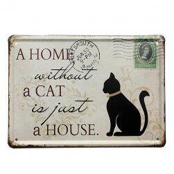 Fém lemez macska szerelmeseinek