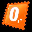 Retro digitális óra - arany szín